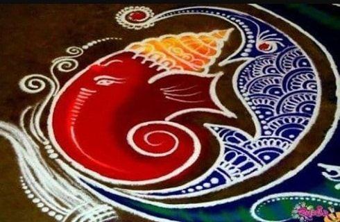 30 Beste Ecke rangoli Designs: einfache rangoli Bilder für Diwali