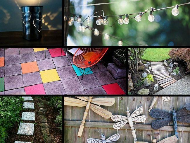 32 Genius Ideen, um Ihren Garten auf einem Budget zu verschönern
