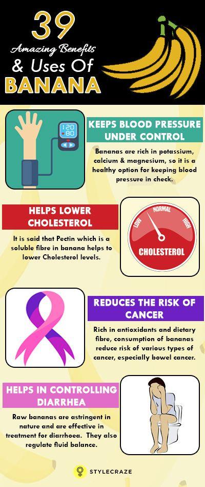 39 Erstaunliche Vorteile und Nutzen von Bananen für Haut, Haare und Gesundheit