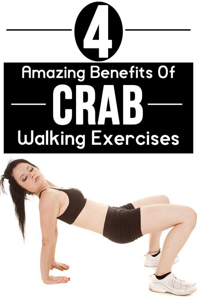 4 Erstaunliche Vorteile von Krabben zu Fuß Übungen auf Ihrem Körper