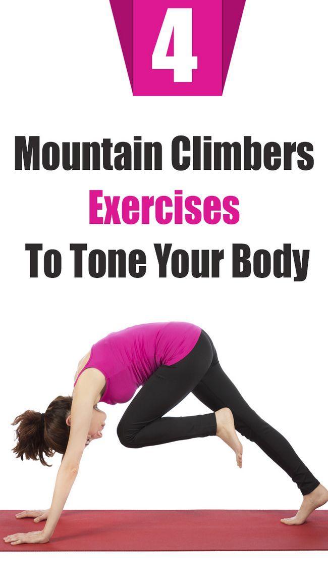 4 Erstaunliche Bergsteiger Übungen Ihren Körper Ton