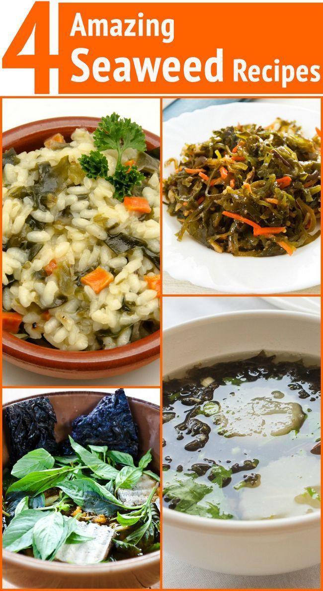 4 Erstaunliche Algen Rezepte für Gewichtsverlust