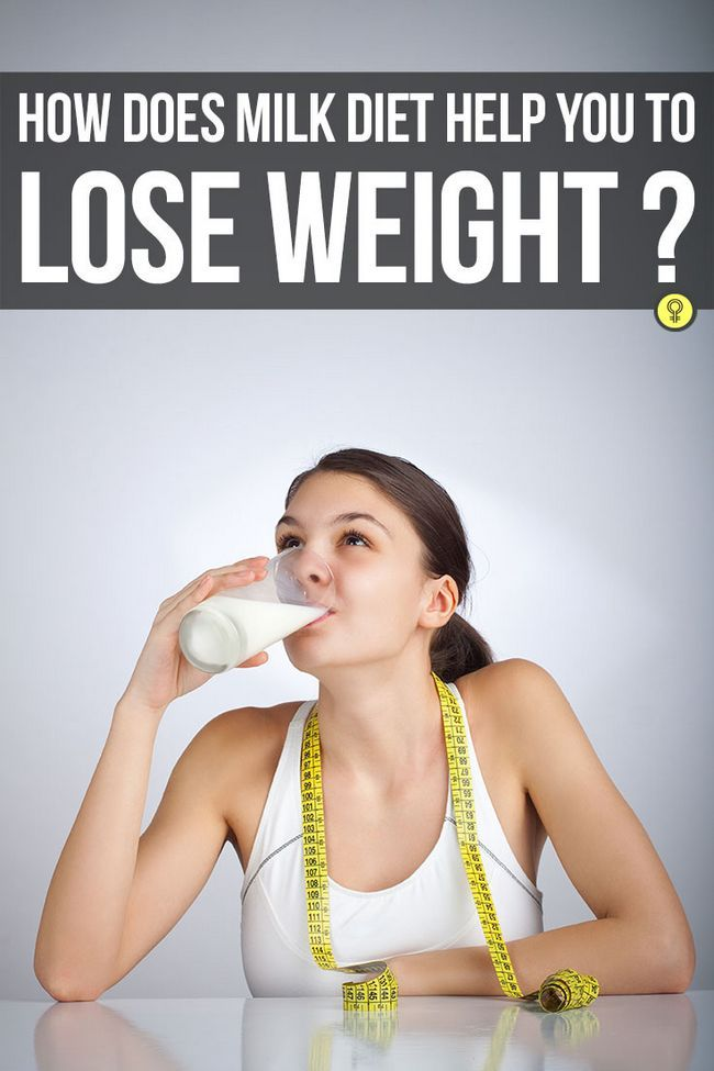 4-Wochen-Milch-Diät zur Gewichtsreduktion
