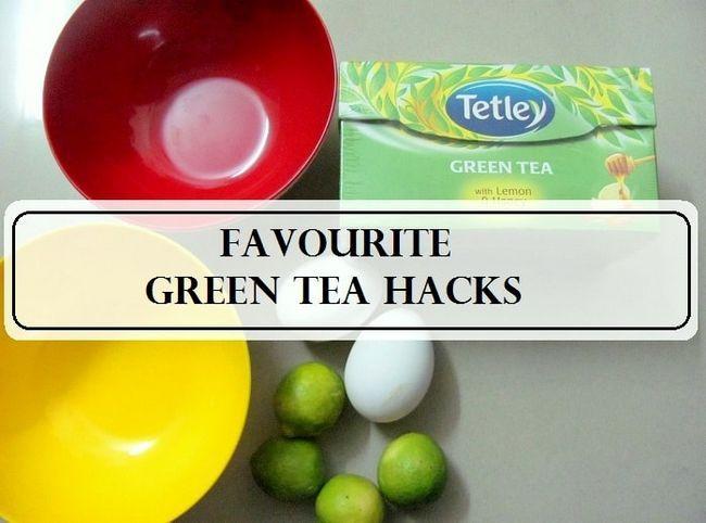 5 Top grüner Tee Schönheit DIYs jedes Mädchen wissen sollten