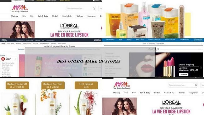 5 Bestes Online Make-up Stores in Indien