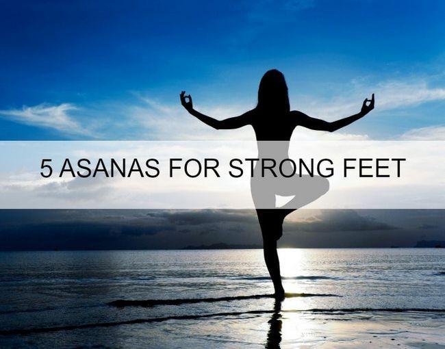 5 Am besten Yoga-Asanas für starke Füße und Knöchel