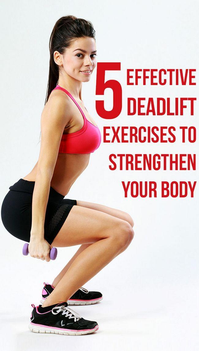 5 Effektive Übungen Kreuzheben Ihren Körper zu stärken