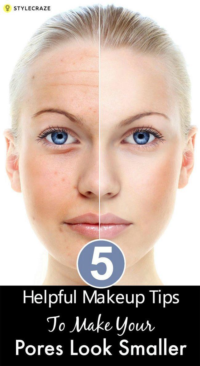 5 Hilfreiche Make-up Tipps Ihre Poren kleiner aussehen