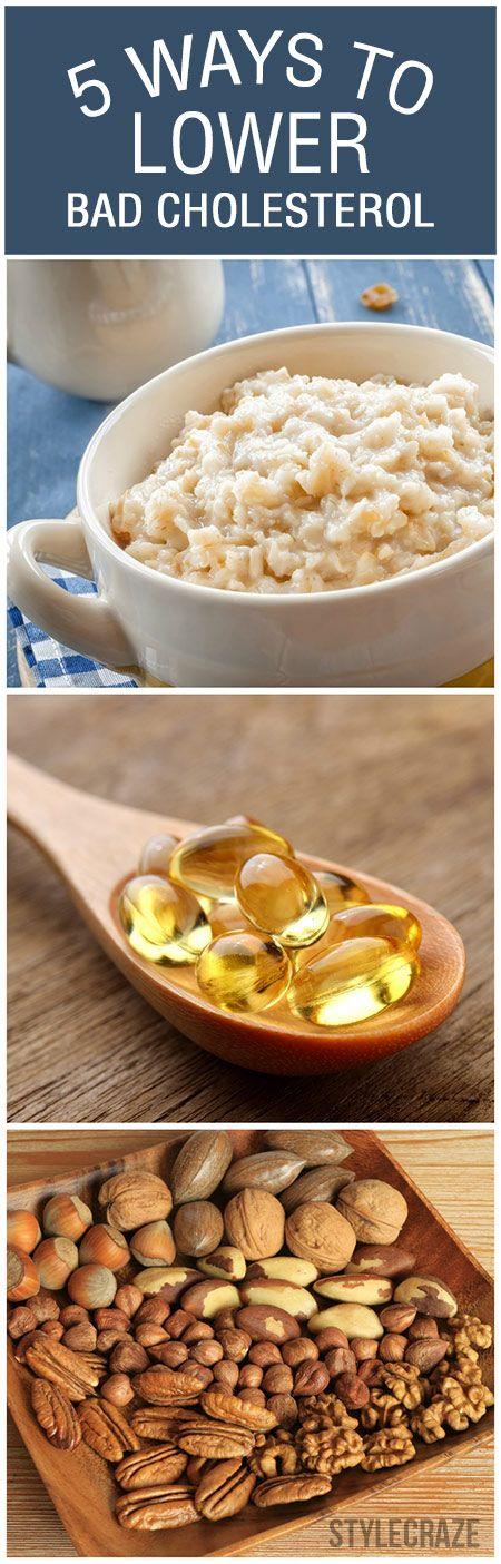5 Einfache Möglichkeiten, schlechte Cholesterin zu senken