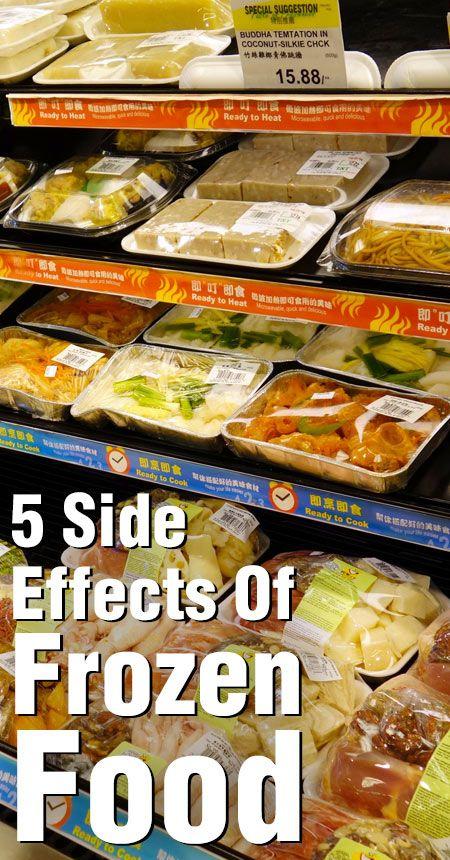 5 Unerwartete Nebenwirkungen von Gefriergut