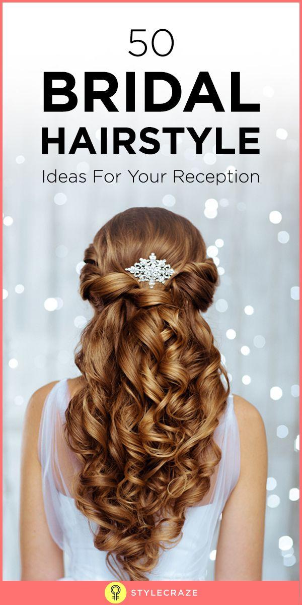 50 Brautfrisur Ideen für Ihren Empfang