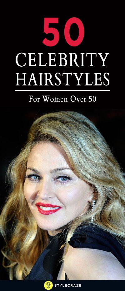 50 Promi-Frisuren für Frauen über 50