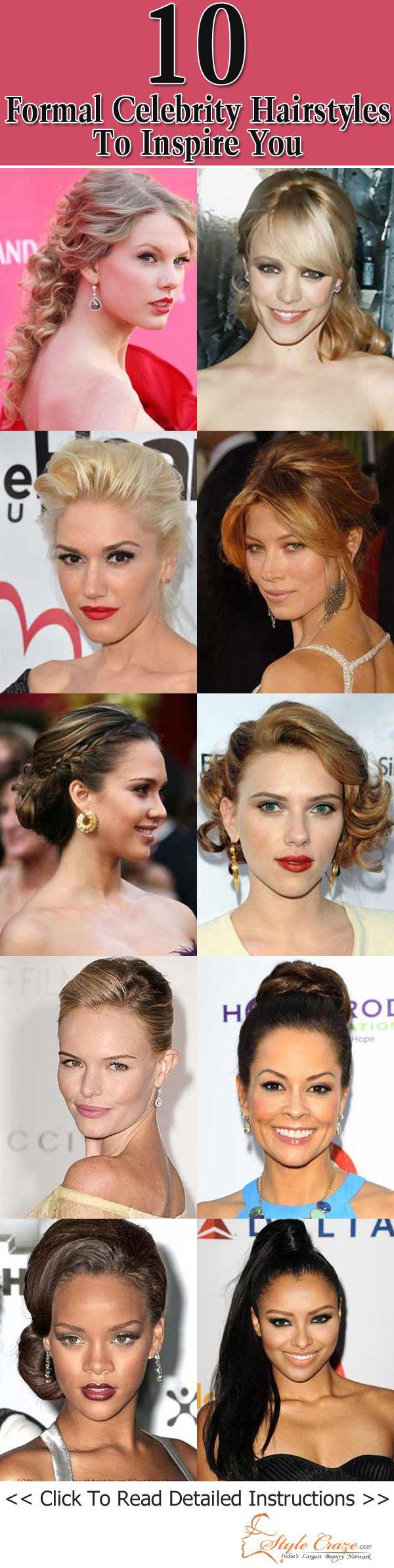 50 Formal Promi-Frisuren, Sie zu inspirieren