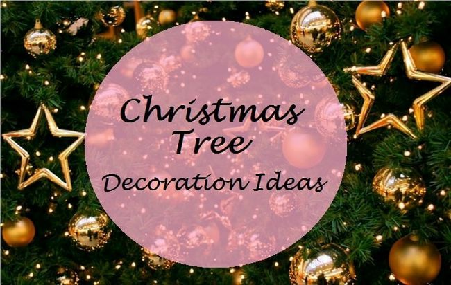 6 Top leicht Weihnachtsbaumdekoration Ideen