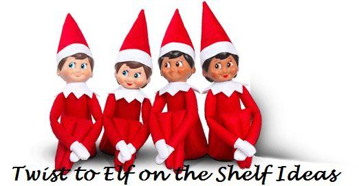 6 Top Elf auf dem Regal Ideen für Weihnachten: Drehungen auf das Spiel