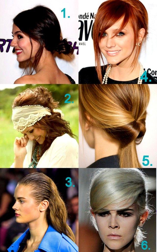 6 Haartrends Sie mögen, dass im Jahr 2013 versuchen