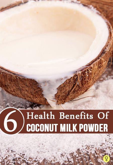 6 Nutzen für die Gesundheit von Kokosnussmilchpulver