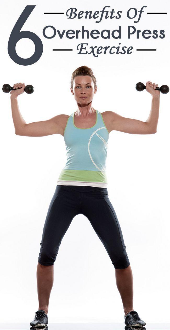 6 Unglaubliche Vorteile der Kopfdrücken Übung Ihren Oberkörper zu stärken