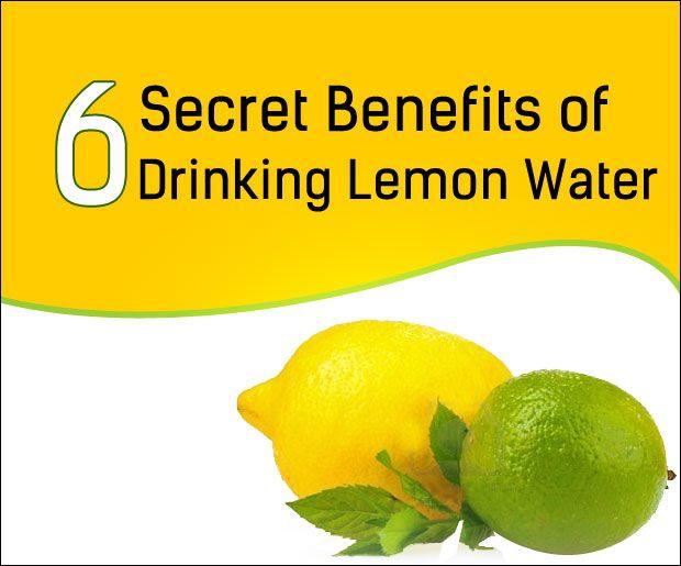 6 Geheime Vorteile des Trinkens Zitronenwasser