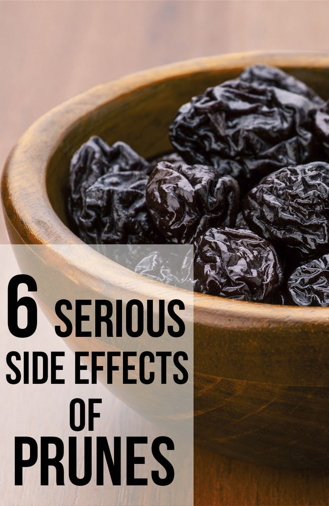 6 Schwerwiegende Nebenwirkungen von Pflaumen
