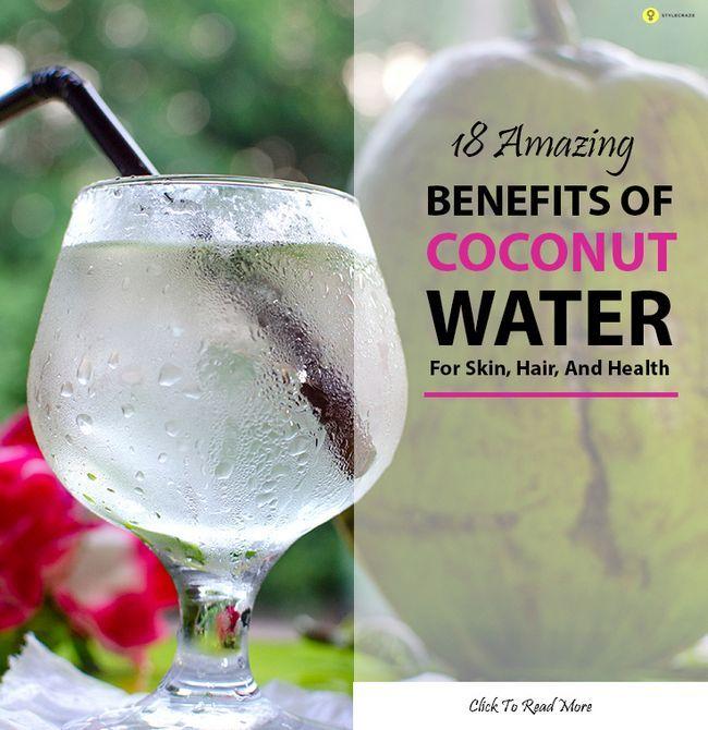 60 Erstaunliche Vorteile von Kokoswasser (nariyal Pani) für Haut und Gesundheit