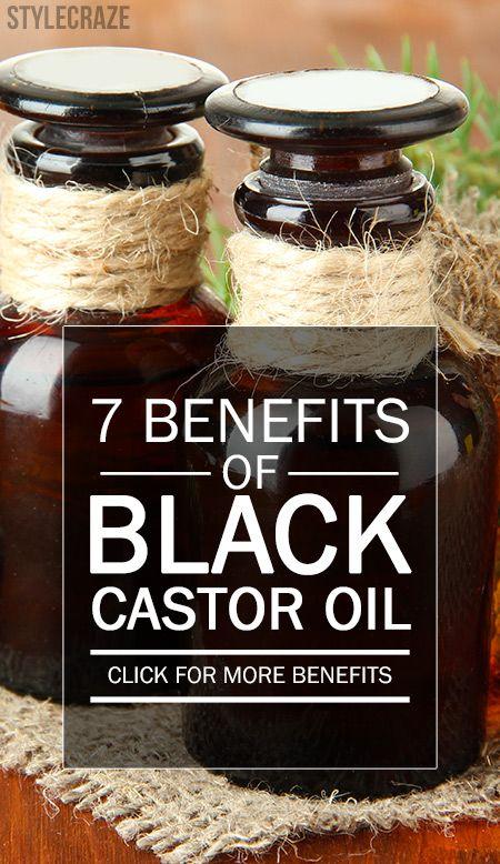 7 Erstaunliche Vorteile von schwarzem Rizinusöl