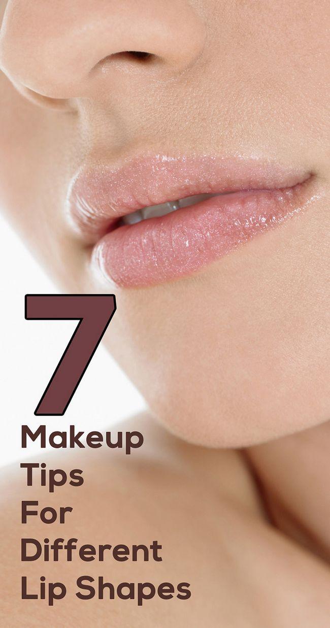 7 Attraktive Make-up-Tipps für unterschiedliche Lippenformen