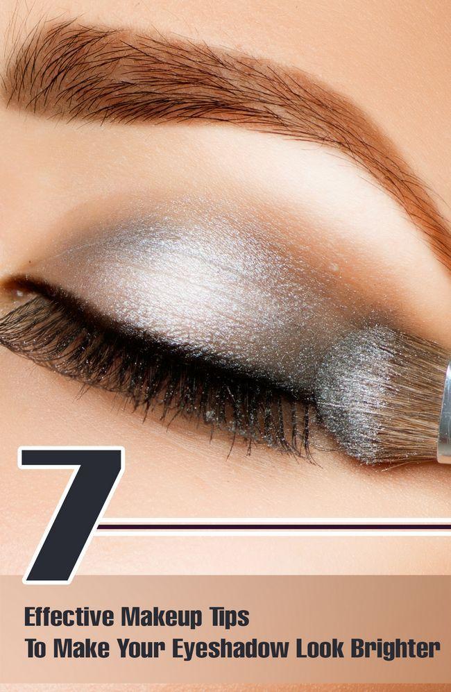 7 Effektive Make-up Tipps, um Ihre Lidschatten aussehen lassen heller