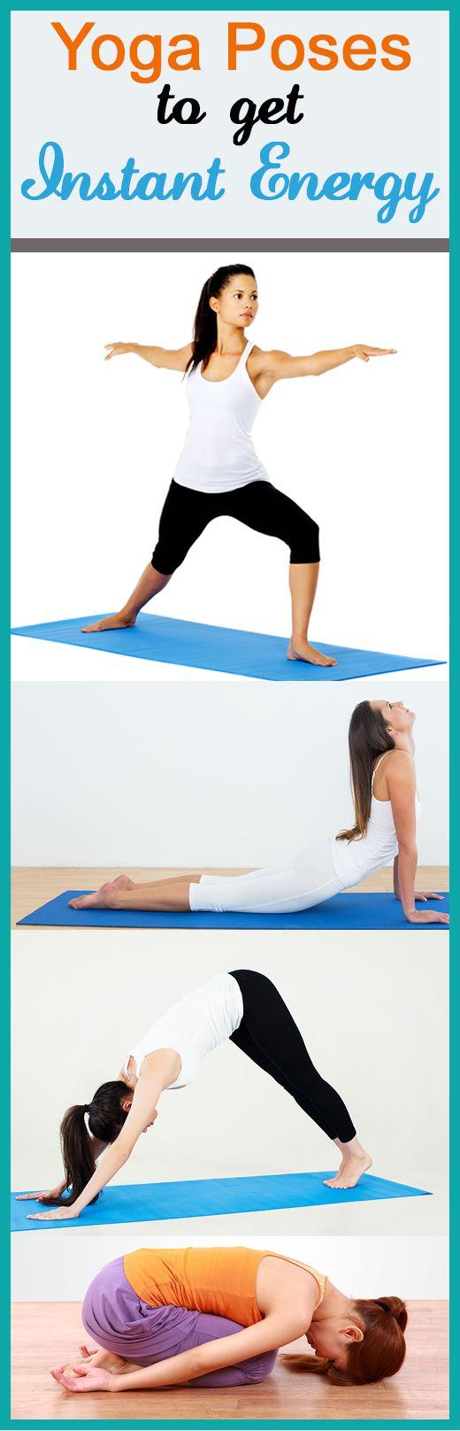 7 Yoga Asanas sofortige Energie zu bekommen