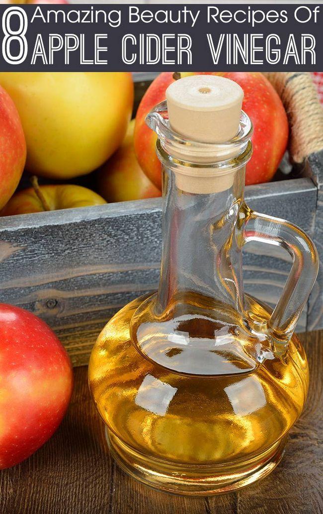 8 Erstaunliche Schönheit Rezepte Apfelessig