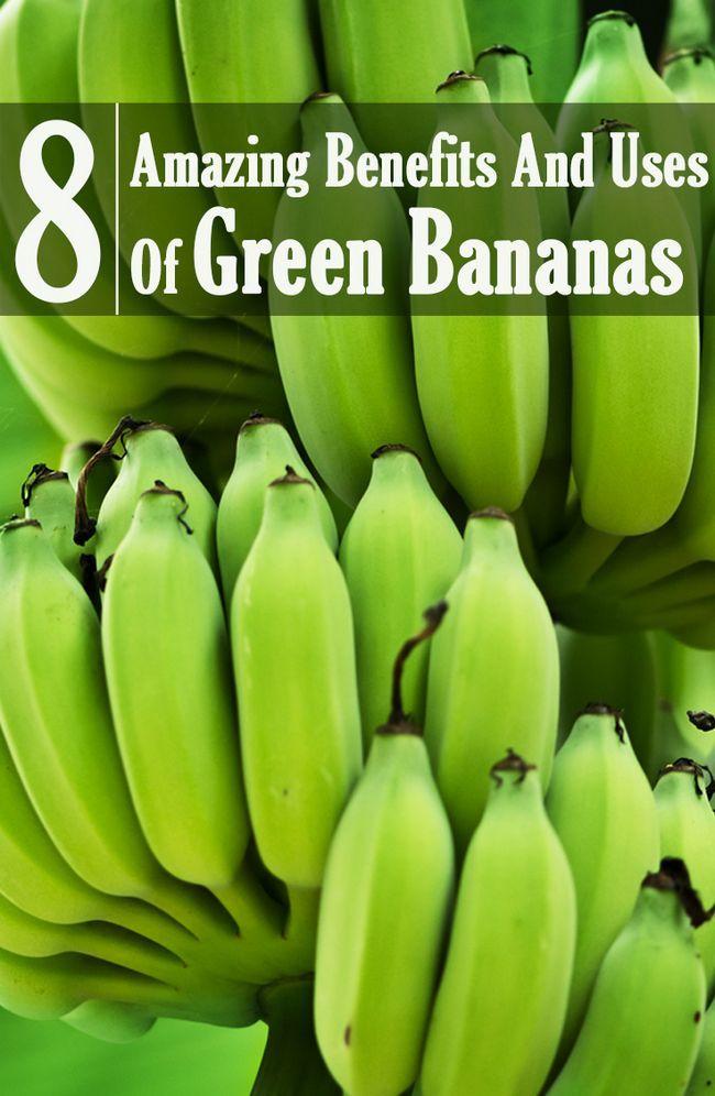 8 Erstaunliche Vorteile und Nutzen von grünen Bananen