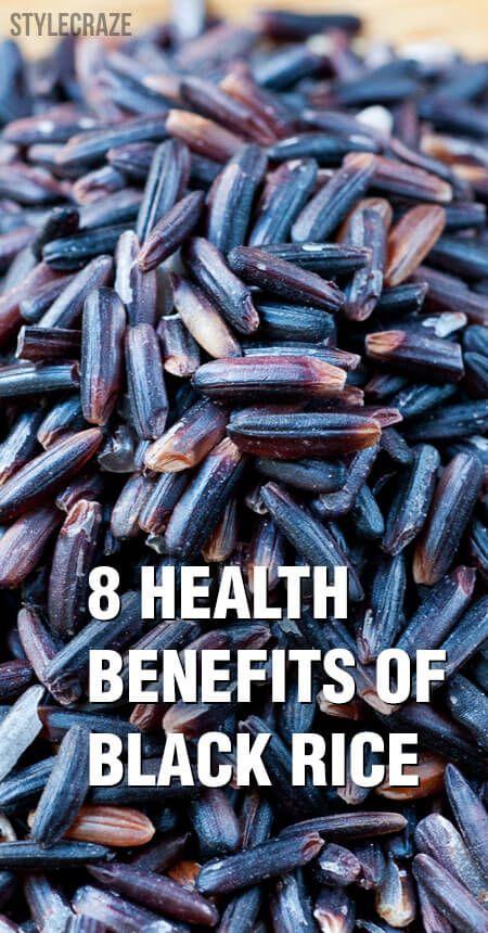 8 Erstaunliche gesundheitliche Vorteile von schwarzem Reis