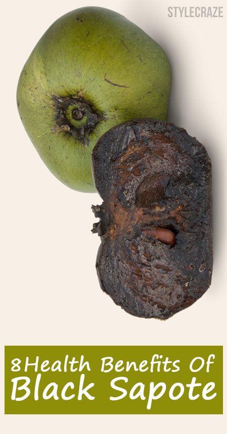 8 Erstaunlicher Nutzen für die Gesundheit von schwarzer sapote