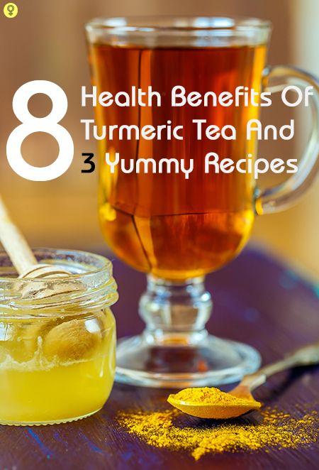 8 Erstaunliche gesundheitliche Vorteile von Kurkuma Tee und 3 leckere Rezepte
