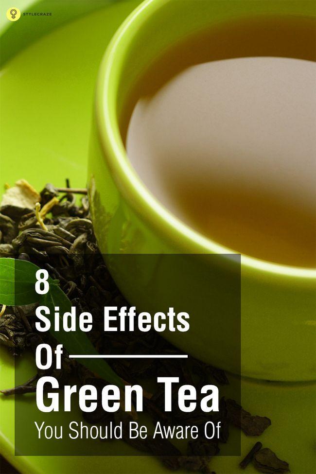 8 Nebenwirkungen von grünem Tee sollte man sich bewusst sein,