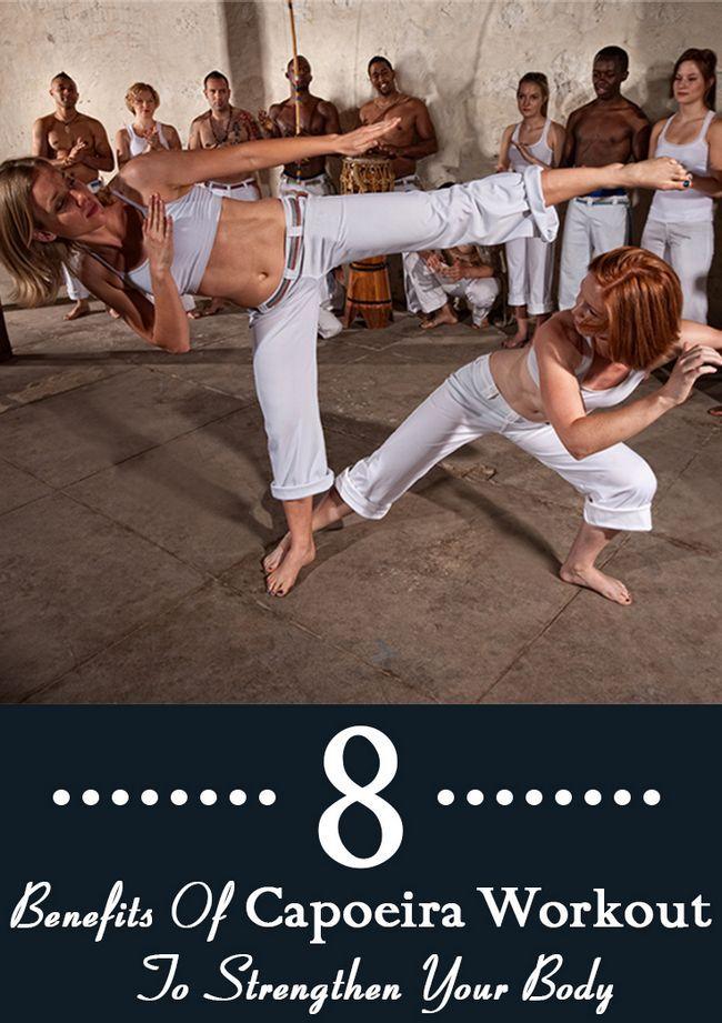 9 Erstaunliche Vorteile der Capoeira Training Ihren Körper zu stärken