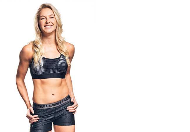 Ein Tag im Leben des Winters Olympian Danielle Scott