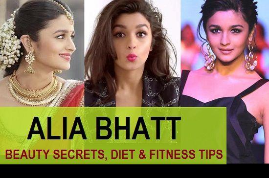 Alia bhatt Beauty-Geheimnisse, Ernährung und Fitness-Tipps