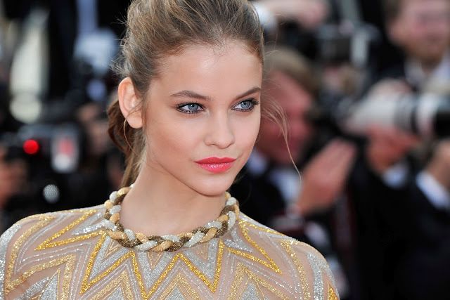 Barbara palvin cannes 2012: Kleidung, Haare, Make-up