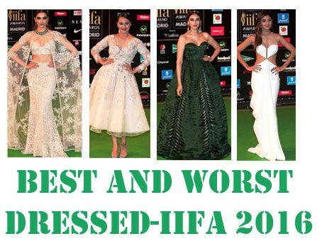 Am besten und schlechtesten gekleidet Schauspielerinnen: IIFA 2016 roten Teppich