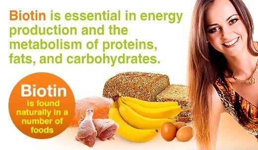 Biotin-reiche Lebensmittel - reiche Quelle von Biotin