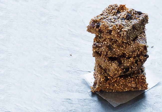 Blueberry choc Chip quinoa Quadrate
