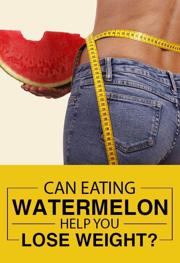 Kann essen Wassermelone helfen, Gewicht zu verlieren?