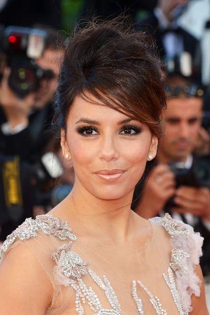 Cannes 2012 Tage 1: eva longoria Kleid und Make-up-Durchbruch (Fotos + Video)