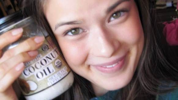 Kokosöl für das Gesicht (mit Kokosöl auf Gesicht)