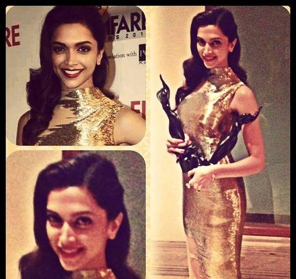 Deepika padukone bei Filmfare Awards 2014: Beste gekleidet oder Müll angezogen?