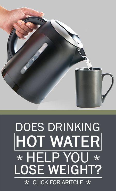 Hat heißes Wasser Hilfe zu trinken, Gewicht zu verlieren?
