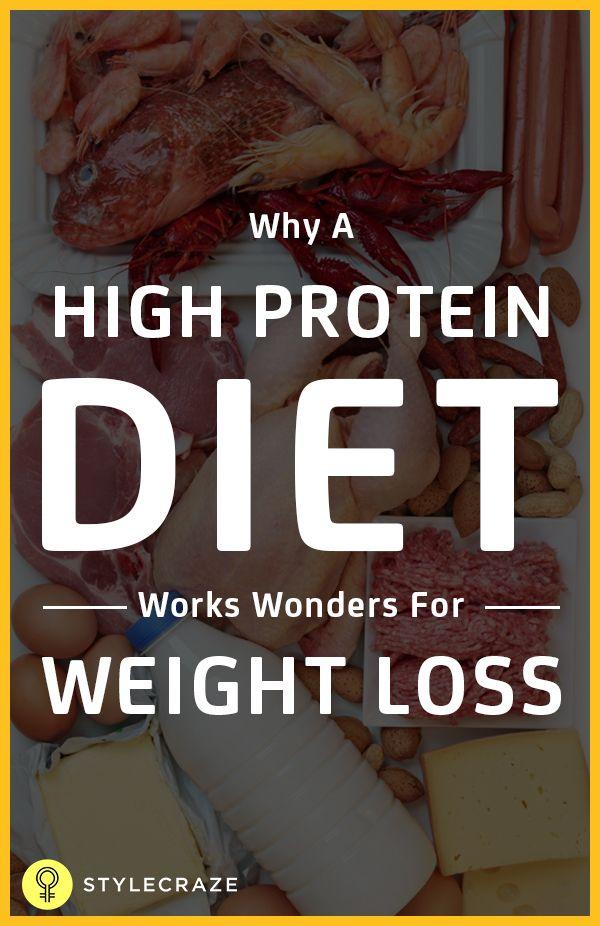 Hat hohe Protein-Diät helfen, Gewicht zu verlieren?