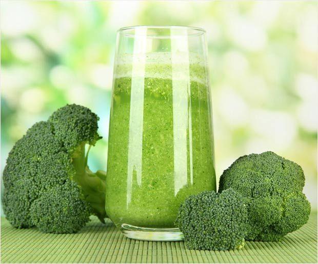Einfaches Rezept und Vorteile von Brokkoli Saft