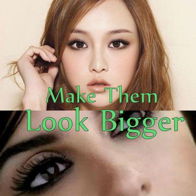 Augen Make-up für kleine Augen: machen sie größer aussehen